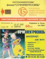 RUSSIA-KRASNODAR(SOCHI) - Internet, Exp.date 01/07/00, Used - Russie