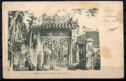 VIETNAM COCHINCHINE MAISON D´ UN RICHE ANNAMITE -- - Viêt-Nam