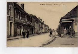 SAINT MARS LA BRIERE - Rue Principale - Centre - Très Bon état - Autres Communes