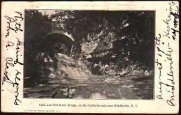 Old Stone Bridge On The Fairfield Road Middleville NY - NY - New York