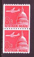 U.S. C65 X 2    **  Coil Pair - Air Mail