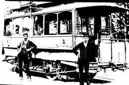 (888) Australia - NSW - Sydney First Electric Tramcar - Tramway - Sydney