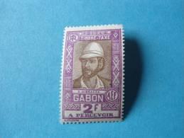 Gabon Taxe Neuf ** N°21 - Gabon (1886-1936)