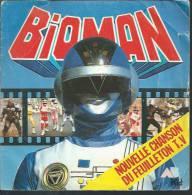 "45 Tours SP - Série TV "" BIOMAN "" ( NAOTO TADA / HIKARU KUROSAKI ) - Soundtracks, Film Music"