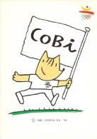 Colección Olimpica Barcelona 92 - Mascota Cobi - Olympics Games - Jeux Olympiques - Postales