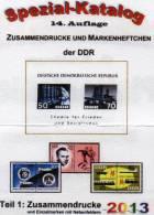 Spezial-Katalog DDR Teil 1 ZD 2013 Neu 25€ Varianten Zierfelder Leerfelder Ränder Se-tenant Special Catalogue Of Germany - Collections