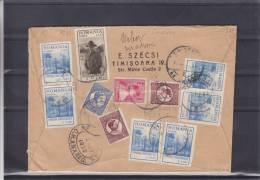 Scoutisme - Familles Royales - Roumanie - Lettre Recommandée De 1933 ° - Expédié Vers Les Etats Unis - 1948-.... Républiques