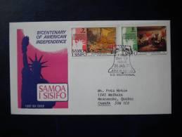 FDC SAMOA   1976 - Samoa