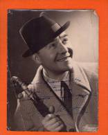 1 Photo Ancienne Dédicace 24x 18 Cm - Célébrités