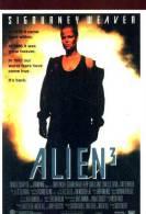POSTCARD PROMOCARD ALIEN 3 SIGOURNEY WEAVER TEMATICA THEMATIC UFO ALIEN - Pubblicitari