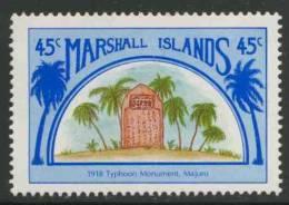 Marshall Islands 1989 Mi 204 ** Typhoon Monument (1918) In Majuro – Links With Japan - Monumenten