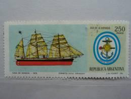 "Argentine 1979- ""Corvette A.R.A. Uruguay""   1 V   N° 1184 - Argentina"