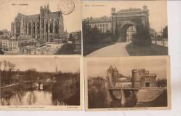 13 / 3 / 119  - LOT DE 16 CP & CPSM DE  METZ - Toutes Scanées - Cartoline