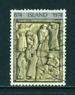 ICELAND - 1974 Icelandic Settlement 60k Used (stock Scan) - Used Stamps