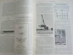 GENIE CIVIL 1934 N°05:ALGERIE PONT D'HELIOPOLIS SUR L'OUED SEYBOUSE/LYON ETABLISSEMENTS A.PINGUELY/ACIERIES DE POMPEY - Journaux - Quotidiens