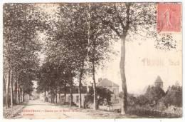 COURTENAY Entrée Par La Route De Sens (Dumond) Loiret (45) - Courtenay