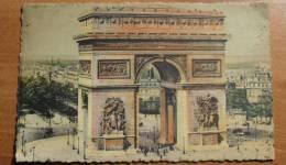 France - Paris - 5 - Arc De Triomphe - 1937 - Colorisée - Animée - Arc De Triomphe