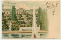 GRUSS AUS POTSDAM - Carte Illustrée . - Potsdam