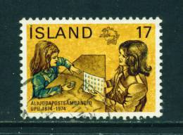 ICELAND - 1974 UPU 17k Used (stock Scan) - Used Stamps