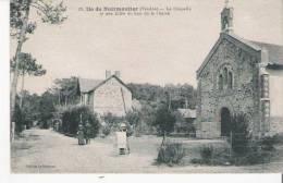 ILE DE NOIRMMOUTIER (VENDEE) 19 LA CHAPELLE ET UNE ALLEE DU BOIS DE LA CHAIZE - Ile De Noirmoutier