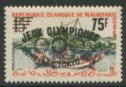 "Mauritanie Mauritania 1962 Mi I II ** = Mi 170 + Overprint ""Jeux Olympique Rome 1960 . Tokyo 1964"" - Mauritanië (1960-...)"