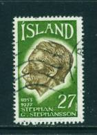 ICELAND - 1975 Stephansson 27k Used (stock Scan) - Used Stamps