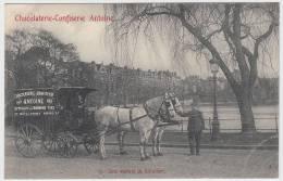 17431g CHOCOLATERIE - CONFISERIE ANTOINE - Série 18 Cartes Rue Du Prince Royal - Bruxelles - Brussel (Stad)