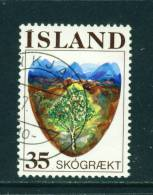 ICELAND - 1975 Reafforestation 35k Used (stock Scan) - Used Stamps