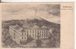 144-Acireale-Catania-Sici Ia-Collegio Pennisi Ed Etna-v.1917 X Pedara - Acireale