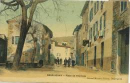 Draguignan Place De L Horloge Edit Giraud Mamert - Draguignan