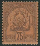 TUNEZ 1888/93 - Yvert #19 - MLH * - Tunisia (1956-...)