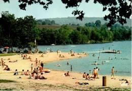 SAINT-PARDOUX : Le Lac - La Plage De Santro - France