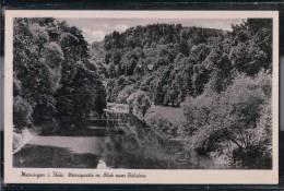 Meiningen - Werrapartie Mit Blick Zum Bielstein - Meiningen