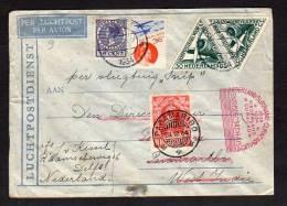 Special Flight 'de SNIP' To Surinam 1934  (Ned H) - Periodo 1891 – 1948 (Wilhelmina)