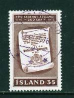 ICELAND - 1976 Postal Services 35k Used (stock Scan) - Used Stamps