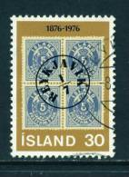 ICELAND - 1976 Stamp Centenary 30k Used (stock Scan) - Used Stamps