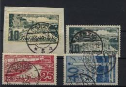 Danzig Michel No. 259 - 261 / 259 a/b gestempelt used