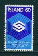 ICELAND - 1977 Co-operative Societies 60k Used (stock Scan) - Used Stamps
