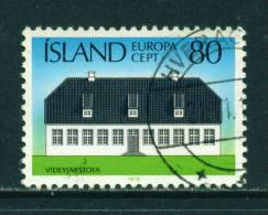 ICELAND - 1978 Europa 80k Used (stock Scan) - Used Stamps