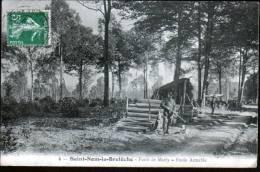 78 - SAINT NOM LA BRETECHE - FORET DE MARLY - ETOILE AIMABLE - TRAVAIL DU BOIS - St. Nom La Breteche