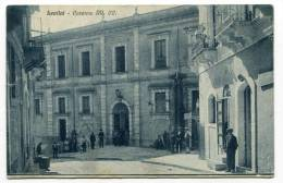LENTINI (SR), Caserma Regi CARABINIERI, Animata, Vg.1928 - Siracusa