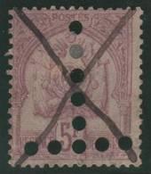 TUNEZ 1888/98 - Yvert #21 (Taxas) - VFU - Tunisia (1956-...)