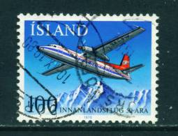 ICELAND - 1978 Domestic Flights 100k Used (stock Scan) - Used Stamps