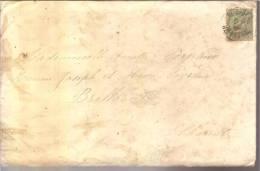 Timbre 5 C 1896 + Enveloppe Et Faire Part De Mariage Patapy Barraud Liet Au 78 ème R I - 1876-1898 Sage (Type II)