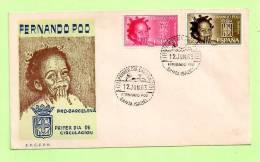 FDC FERNANDO POO N° 210 / 11 - Fernando Po