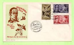 FDC FERNANDO POO N° 212 : 14  -  Journée Du Timbre - Fernando Po