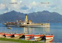 02071 - Raddampfer LUDWIG FESSLER Auf Dem Chiemsee - Dampfer