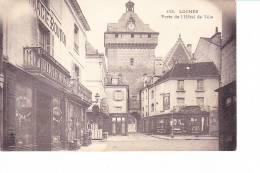 Loches  --  Porte De L'Hôtel De Ville - Loches