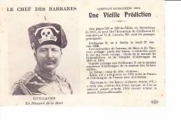 LE CHEF DES BARBARES  --  Une Vieille Prédiction - France