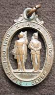 M01235 Tir Schot Schuss, National Rifle Association 1860 Rifle Club Sit Perpetuum N.R.A. (14 G.) - Etats-Unis